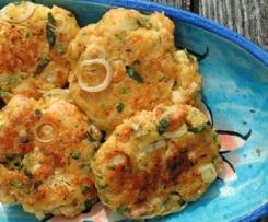 Crab Cakes - Frikadellen mit Krebsfleisch