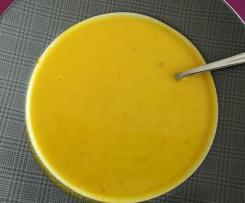 Frühlingscremesuppe (Gemüsesuppe Karotte-Kohlrabi)