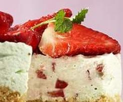 Erdbeer-Frischkäse-Torte nach WW (Kühlschranktorte)