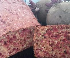 Rote-Bete-Brot mit Kräutern