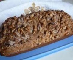 Banana Walnut Loaf - saftiger Bananenkuchen (auch noch nach mehreren Tagen)