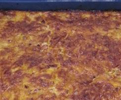 Möhren-Speck-Tarte