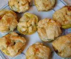 Paprika-Zucchini- Muffins