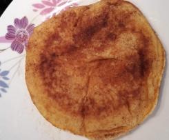 Dinkel Apfel Pfannkuchen Vollkorn