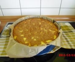 Variation von Russischer Zupfkuchen mit Kirschen