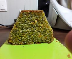 Kürbis-Orangenkuchen mit Mohn