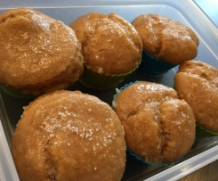 Glutenfreie Limetten-Kokos Muffins (Variation von Herber Limetten-Kuchen)