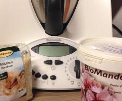 Mandelmilch-Milchreis