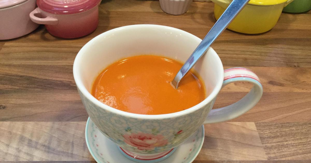 super leckere tomatensuppe von lujo0810 ein thermomix rezept aus der kategorie suppen auf www. Black Bedroom Furniture Sets. Home Design Ideas