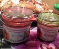 Tomatenmarmelade mit Bumms