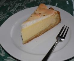 Käse-Schmand-Torte mit Baiserhaube