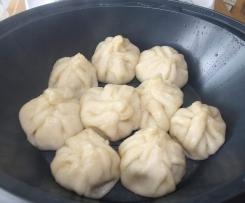 Teigtaschen asiatisch