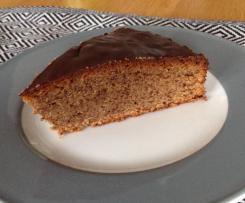 Saftiger Schokoladen-Zwieback-Kuchen
