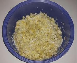 Weißkohlsalat - gut zum Vorbereiten, muss einige Tage ziehen