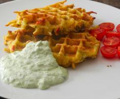 Kartoffelwaffeln - Herzhaft und Pikant