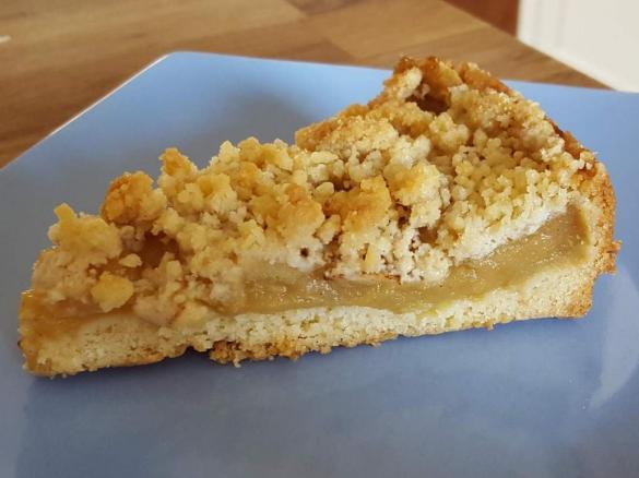 Apfelkuchen Apfelmus Kuchen Streuselkuchen Mit Apfel Von Jordan100
