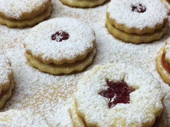 Suche Rezepte Für Weihnachtsplätzchen.Weihnachtsplätzchen Linzer Art Sooo Lecker