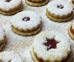 "Weihnachtsplätzchen ""Linzer Art"" sooo lecker!!"
