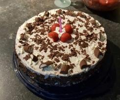 Variation von Yogurette-Torte (ohne Gelatine)