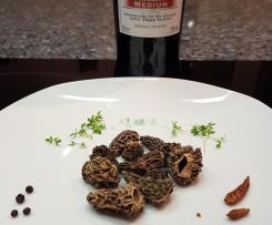 Gerrys Gnocchi in feiner Morchelrahm-Sauce