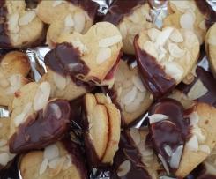 Marzipan-Mandel-Herzen