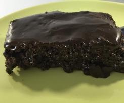 Brownies mit Schokoladenguss