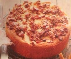 Dinkel-Apfel-Walnuß-Kuchen