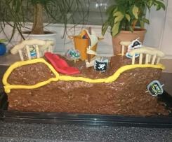 Geburtstagstorte Piratenschiff