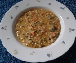 Mangold-Paprika-Risotto