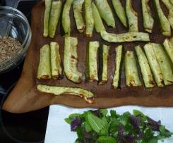 """Zucchini Pesto mit """"Röstaroma"""""""