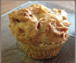 Schinken-Röstzwiebel Muffins