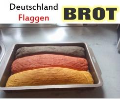 WM-Deutschland Flaggen Brot