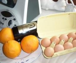 Low-Carb Orangen - Sabayone zu Fleisch ...