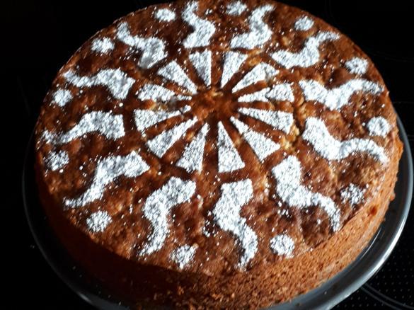 Saftiger Apfel Marzipan Kuchen Von Tm1996 Ein Thermomix Rezept