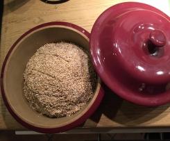 leckeres Brot (eifrei) - Hcg/Stoffwechselkur/LowCarb im runden Zaubermeister TPC