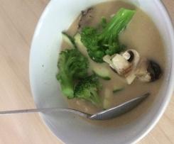 Thai- Kokossuppe