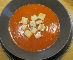 Tomatensuppe, Rezept von meiner Oma