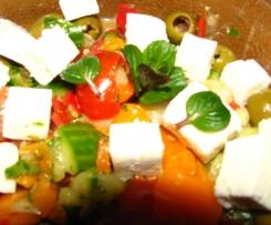 Bauernsalat türkischer bzw. griechischer