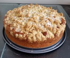 Kirsch Kuchen mit Streusel