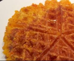 Süße Kürbiswaffeln (WW- und Diät-geeignet)