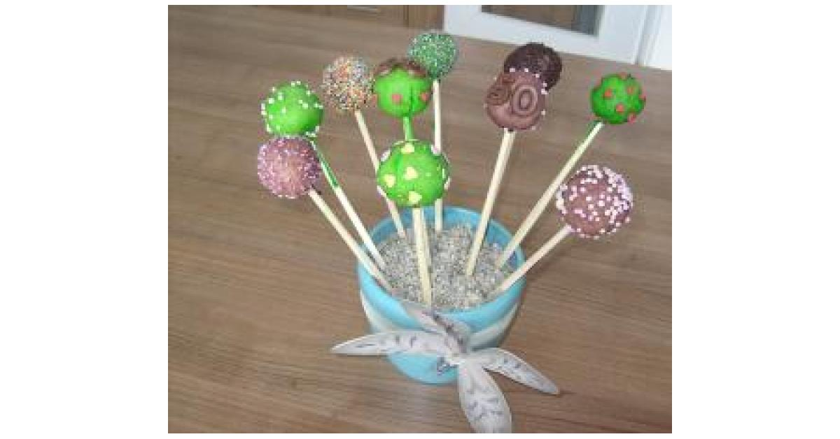 Cake Pops Kuchen Am Stiel Von Nina Hanna Ein Thermomix Rezept
