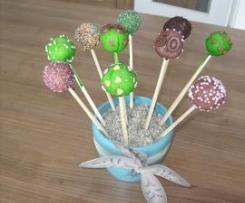 Cake Pops, Kuchen am Stiel