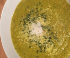 Single Karotten Zucchini Cremesuppe