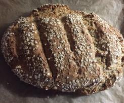 saftiges Brot mit Schmand