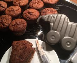 Kirsch-Schoko Muffins
