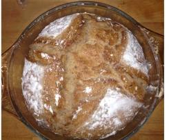 Variation von Dinkel-Roggen Brot