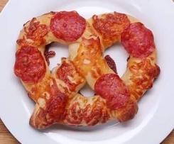 Pizzabrezeln