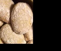 Jugoslawische Vanilleplätzchen (ähnlich Heidesand)