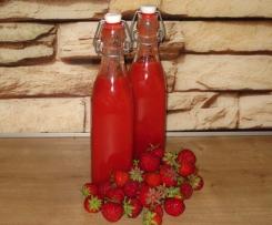 Erdbeerlimes - frisch und fruchtig