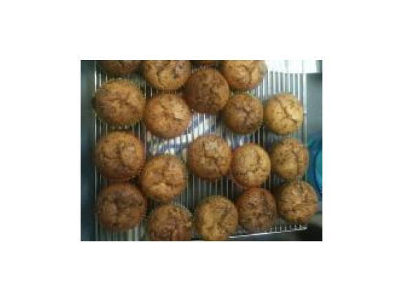 Fluffige Schoko Muffins Mit Flussigem Schoko Bon Kern Von